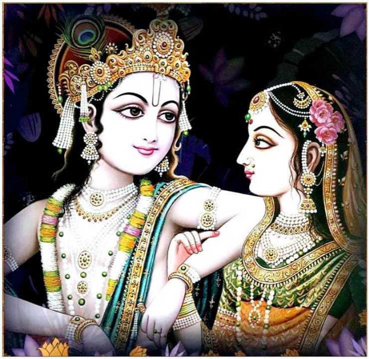 Radha Krishna Full Hd 1080p High Resolution Dp 3d Whatsapp - Marriage - HD Wallpaper