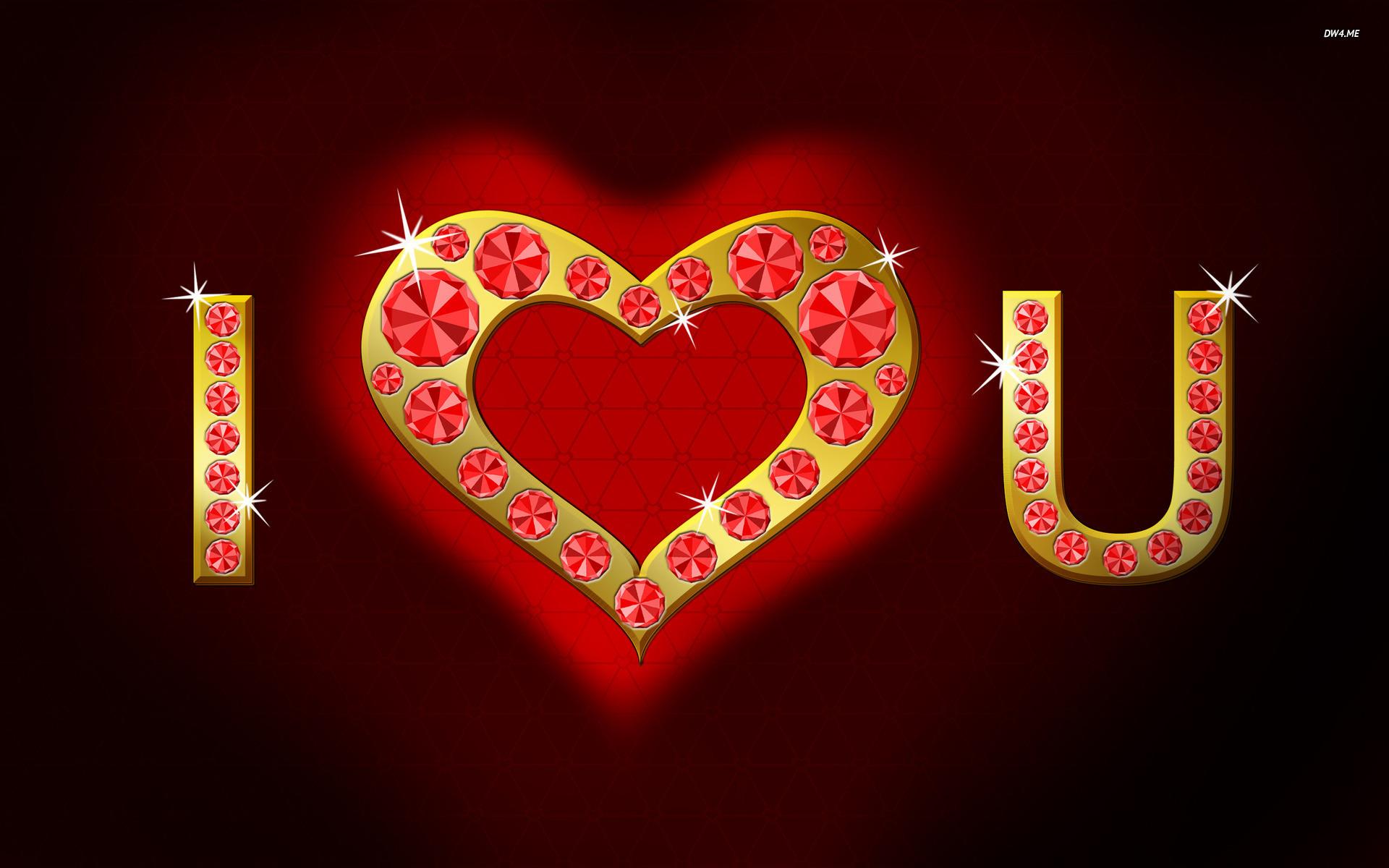 I Love You Forever Windows - Love U Sms - HD Wallpaper