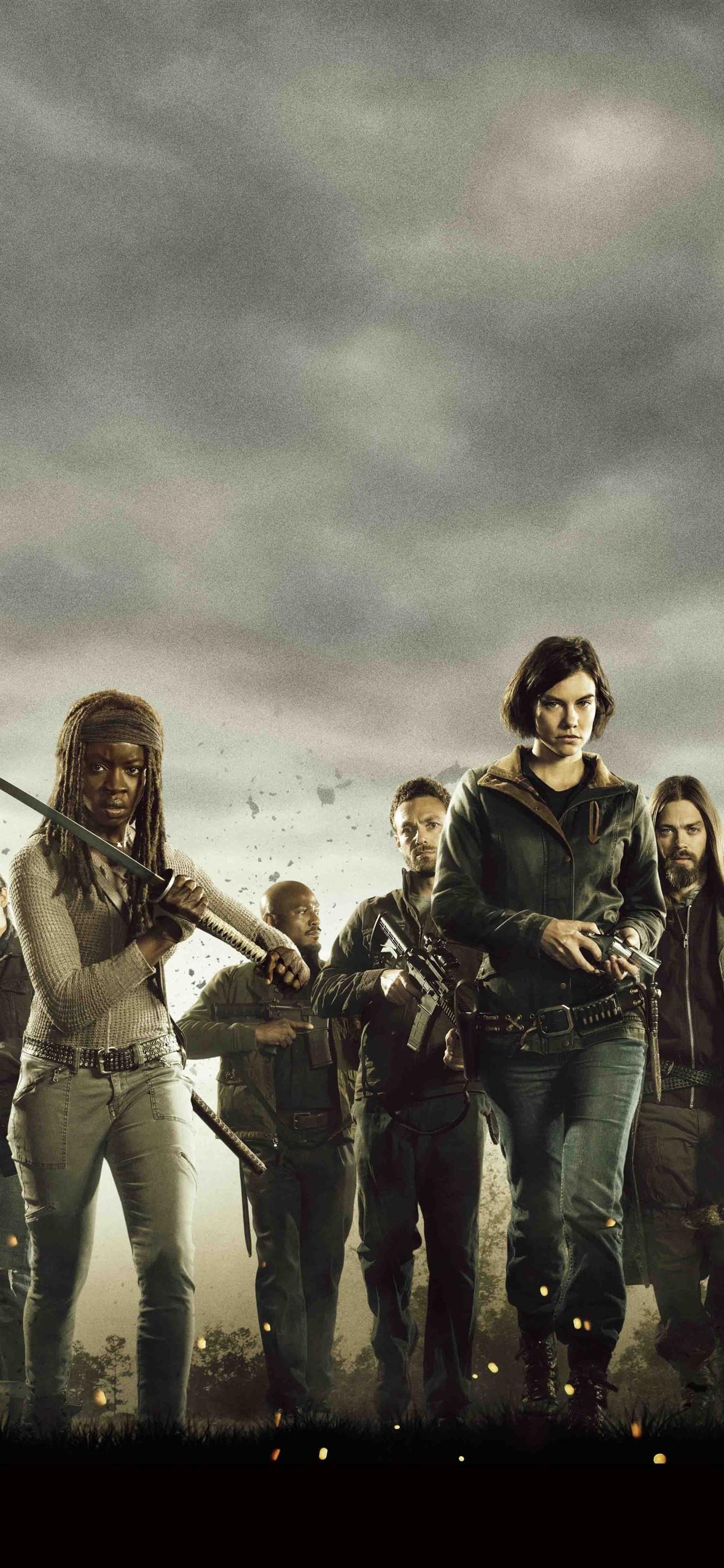 Iphone Wallpaper The Walking Dead, Amc Tv Series - Walking Dead Season 8 Part 2 - HD Wallpaper