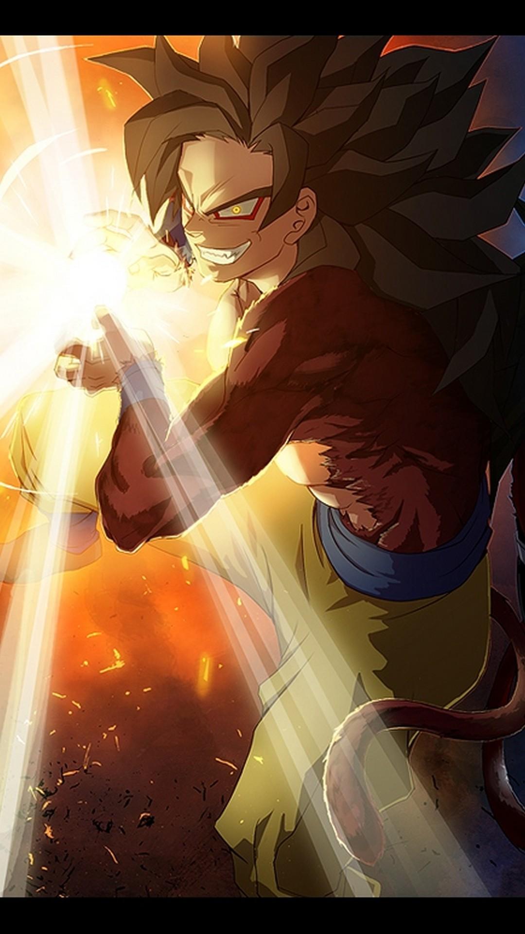 Iphone 7 Wallpaper Goku Ssj4 With Image Resolution - Dragon Ball Z Amazing - HD Wallpaper