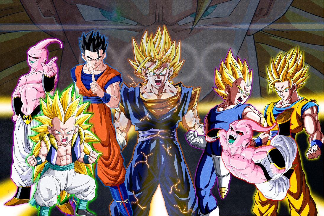 Dragon Ball Z Kai Buu Saga - Dragon Ball Buu Saga - HD Wallpaper