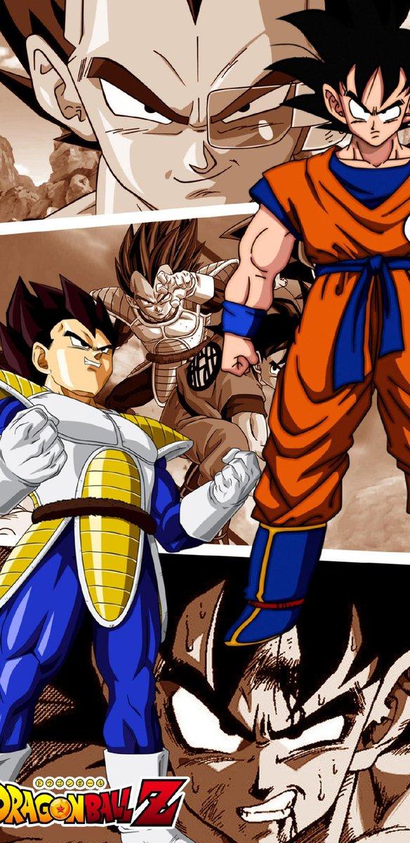 Android Goku Y Vegeta 584x1200 Wallpaper Teahub Io