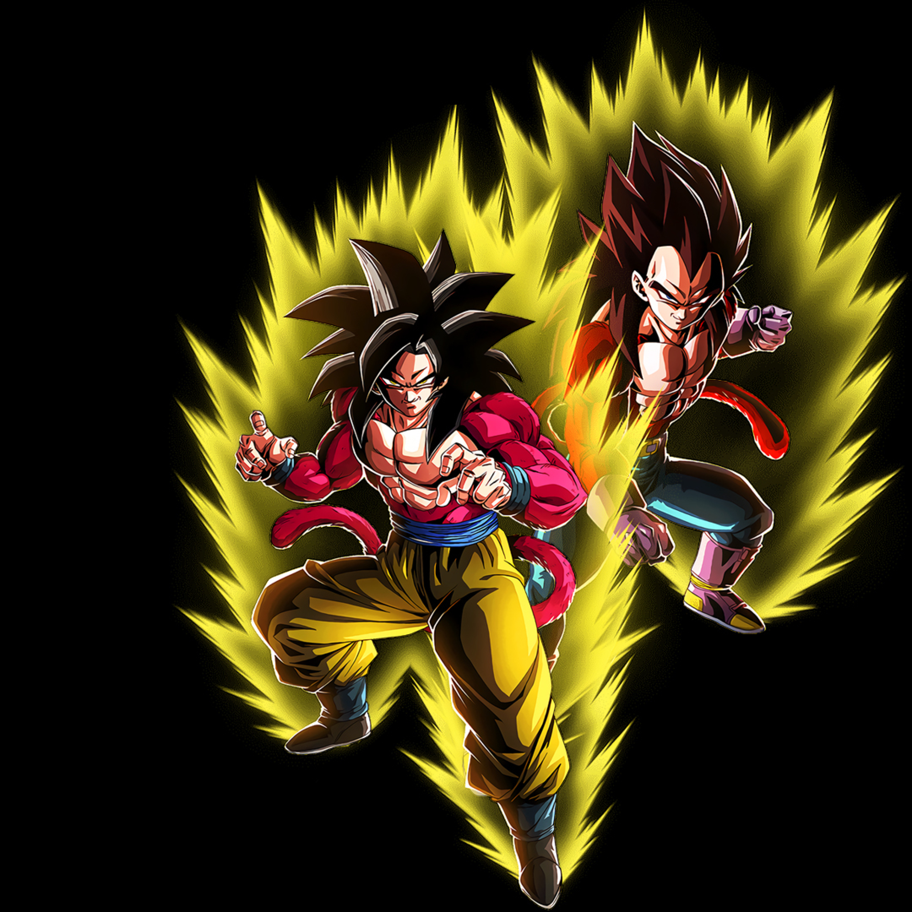 Goku Ssj4 Wallpaper 4k - HD Wallpaper