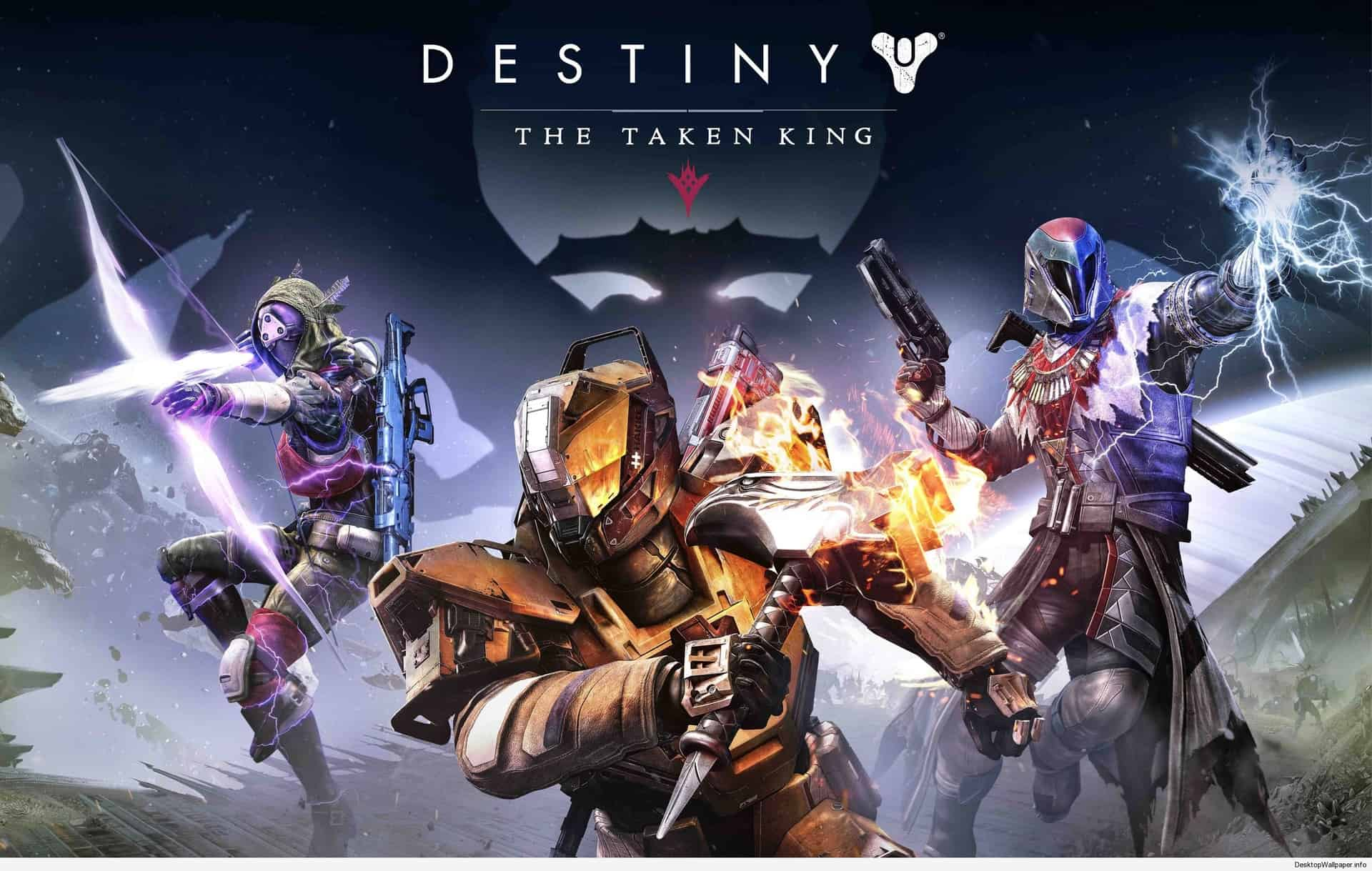 4k Game Wallpaper - Destiny The Taken King Poster - HD Wallpaper