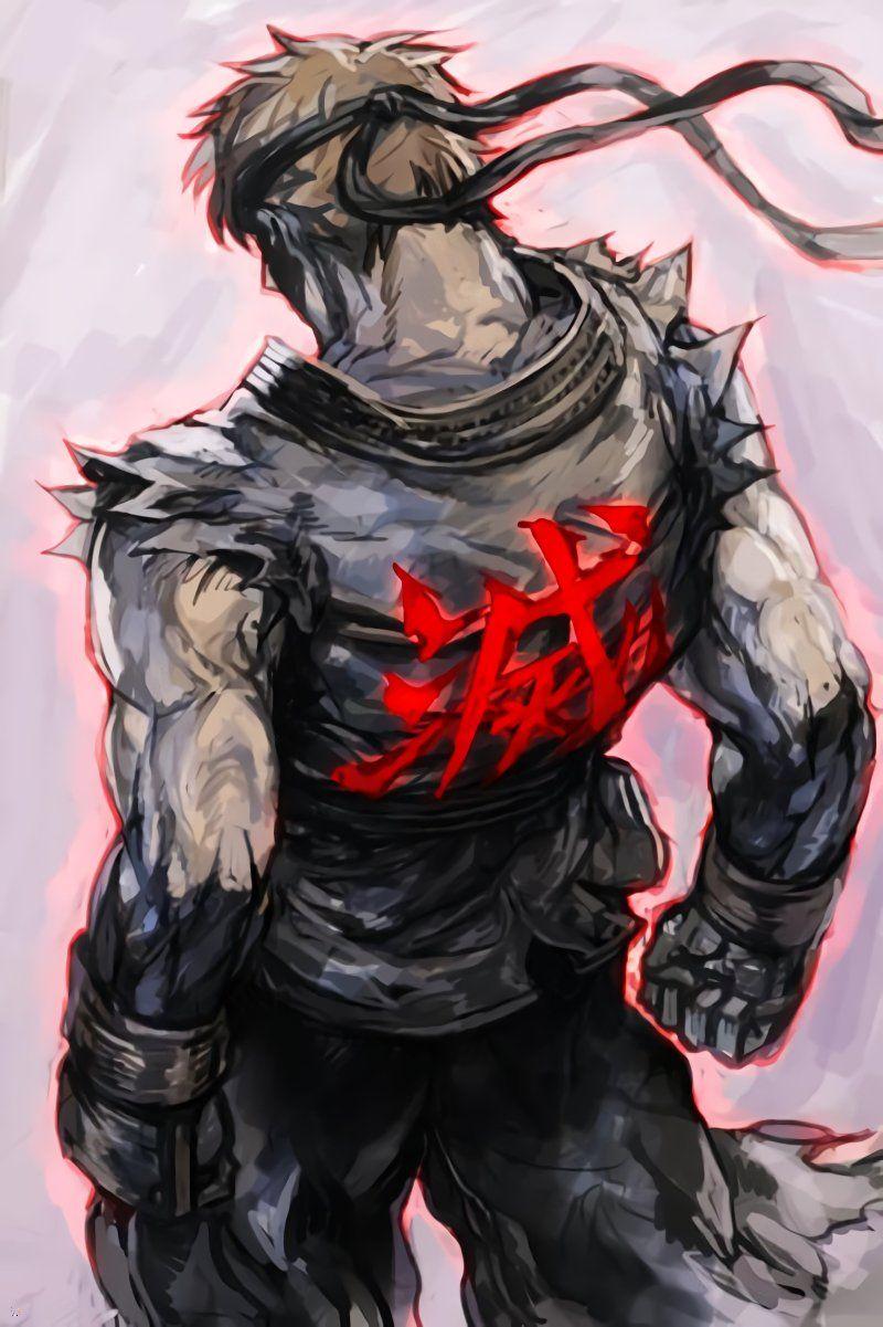 Evil Ryu Fan Art 800x1201 Wallpaper Teahub Io