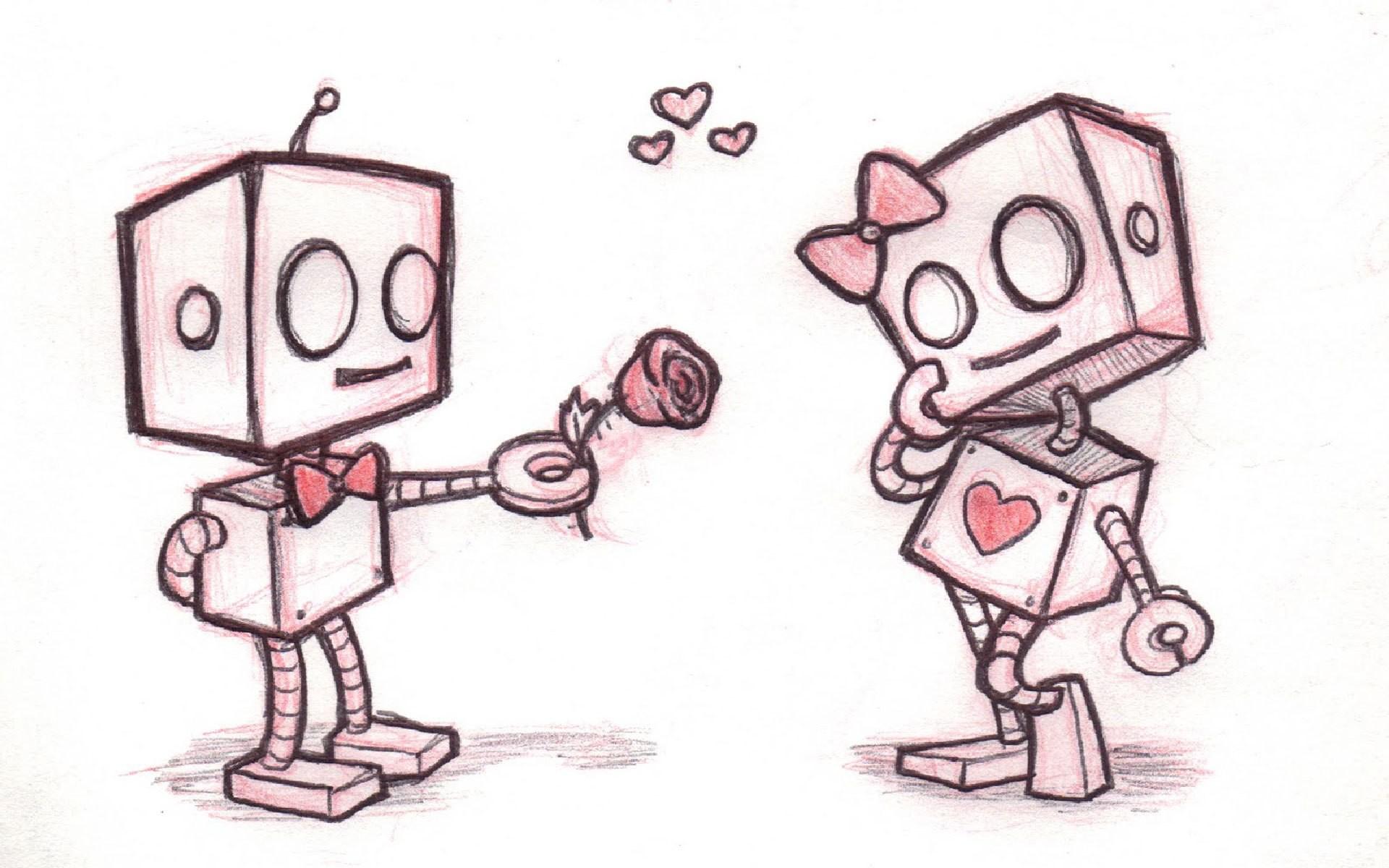 Cute Love Drawings Pencil Art - Love Drawings - HD Wallpaper
