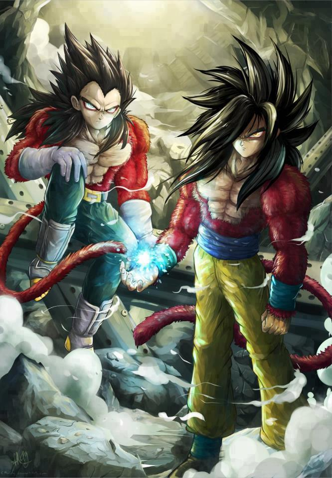 Goku And Vegeta Dragon Ball Evolution Goku Super Saiyan 4 666x960 Wallpaper Teahub Io