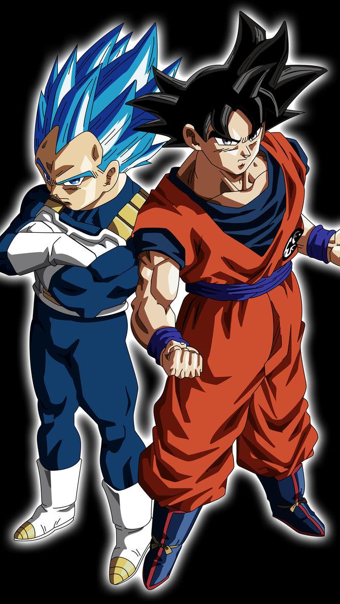 #5lfbft4 Dbz Vegeta Wallpaper - Goku And Vegeta Dbs - HD Wallpaper