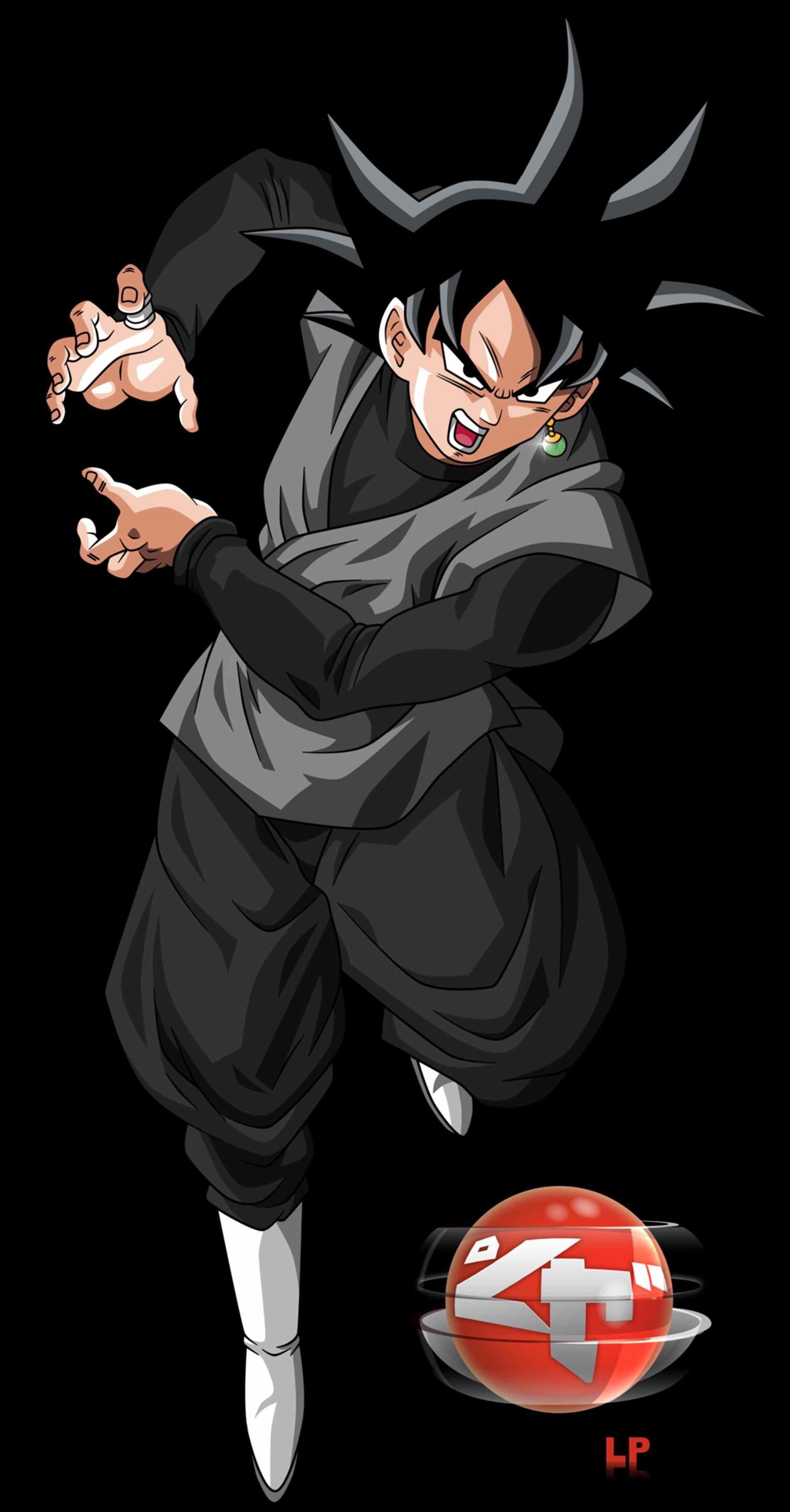 Dragon Ball Z Goku Black 1900x3638 Wallpaper Teahub Io