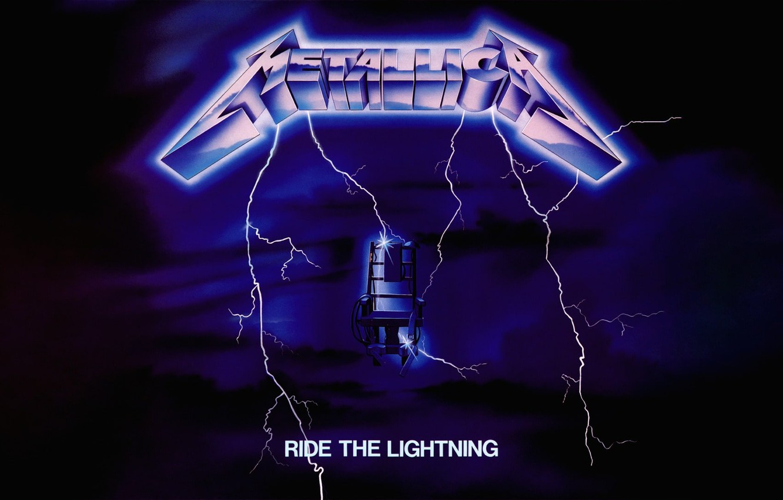 Photo Wallpaper Lightning, Album, Metallica, Thrash - Metallica Ride The Lightning Cover - HD Wallpaper