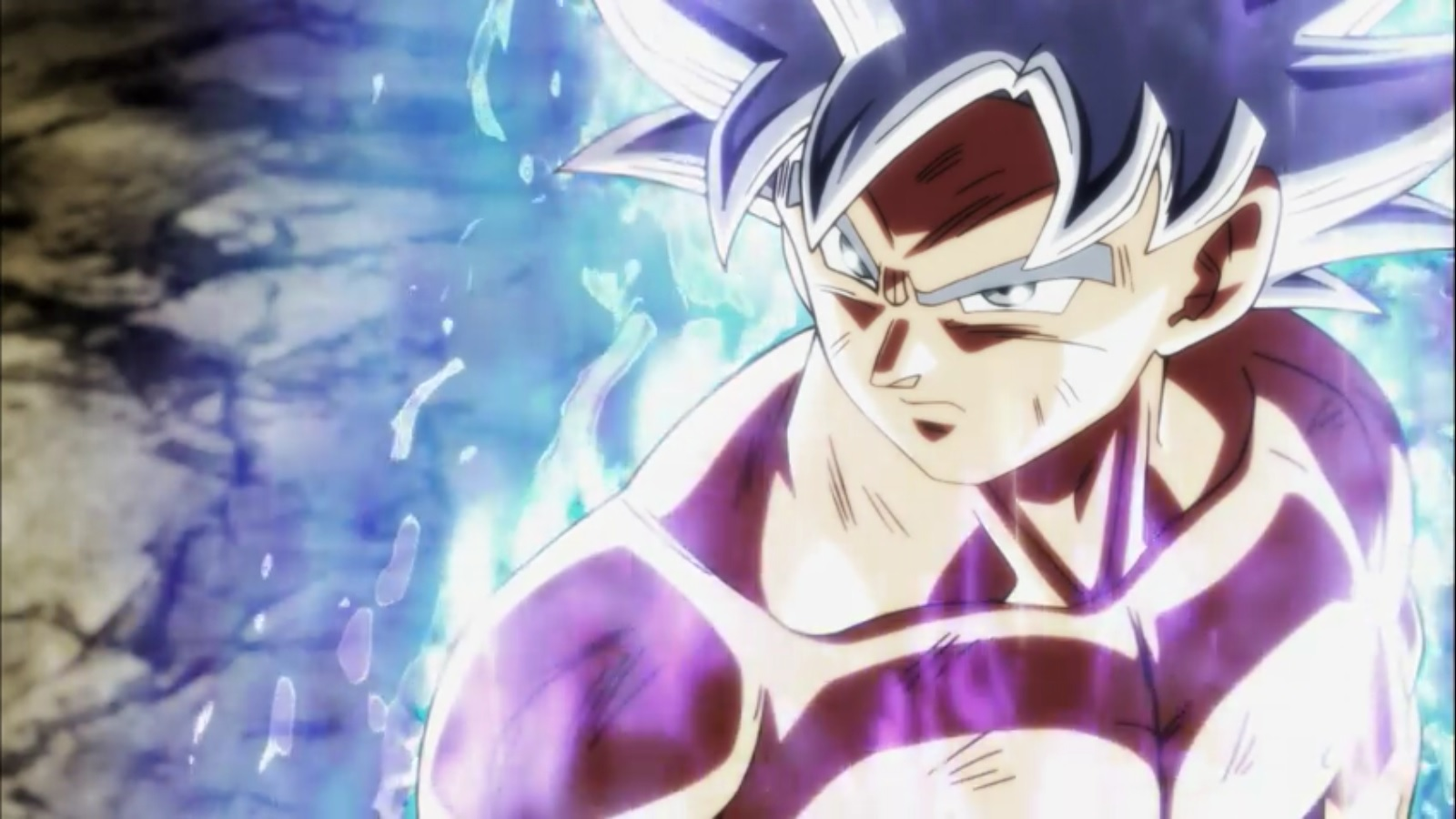 Ultra Instinct Dragon Ball Super Gif 1600x900 Wallpaper Teahub Io