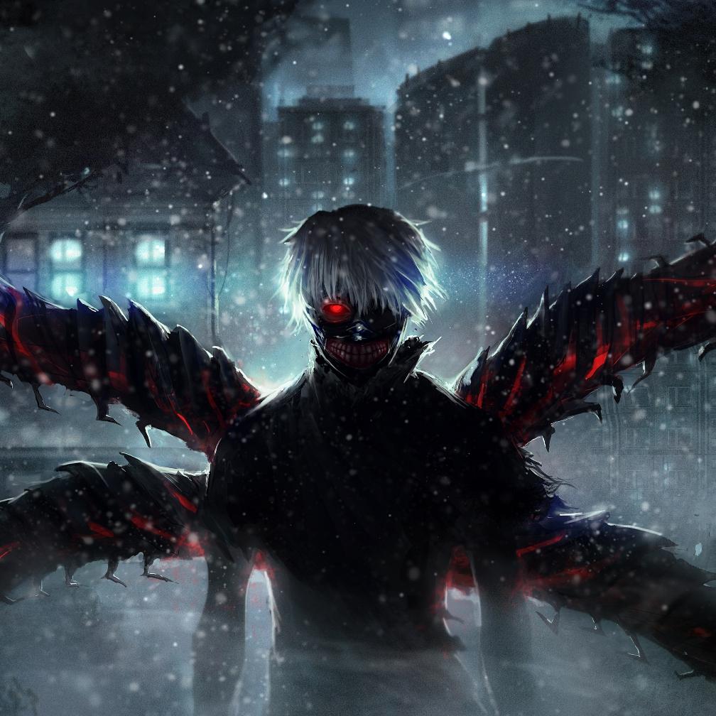Tokyo Ghoul Hd Wallper 1008x1008 Wallpaper Teahub Io