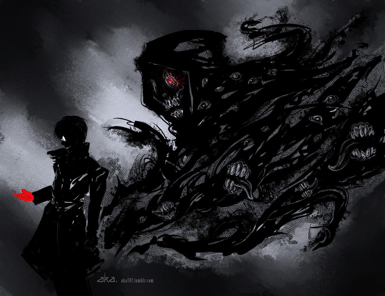 Tokyo Ghoul Black Reaper Wallpaper Tokyo Ghoul Re Black Reaper Kaneki 1280x985 Wallpaper Teahub Io