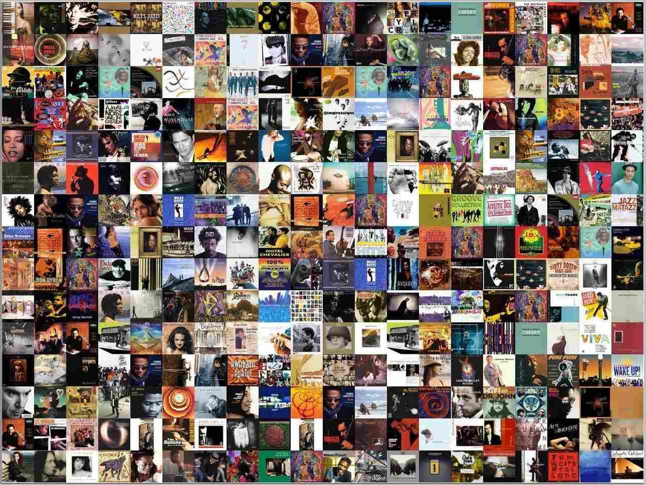 Album Cover Wallpaper Generator - Collage Of Album Covers 2017 - HD Wallpaper