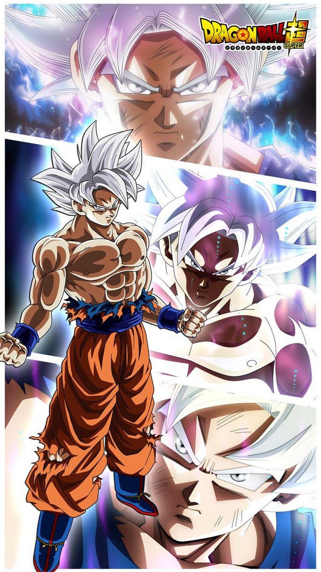 Goku Ultra Instinct Wallpaper Iphone X 1080x1920 Wallpaper Teahub Io