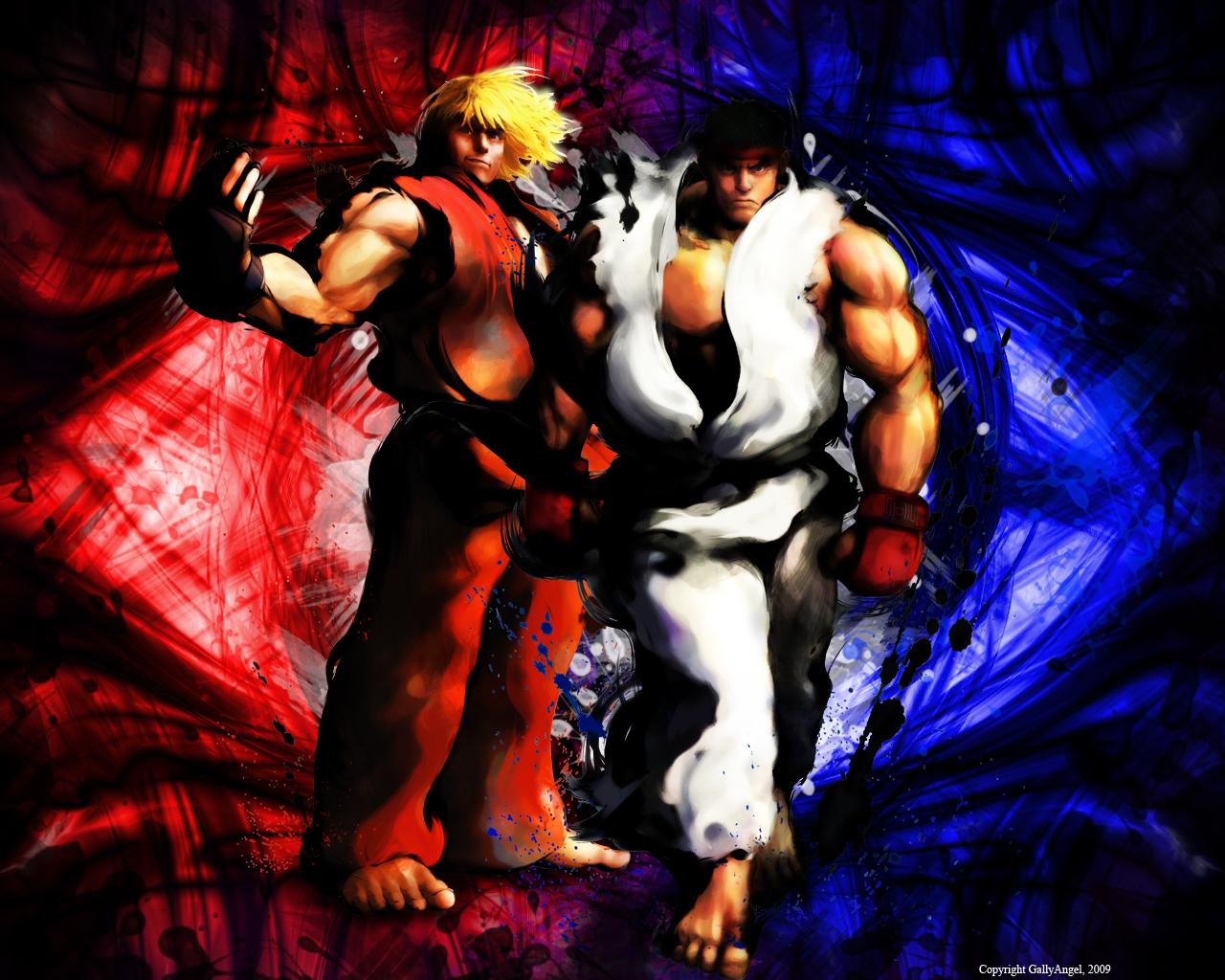 Street Fighter Ken Masters Ryu Wallpaper Style Street Fighter