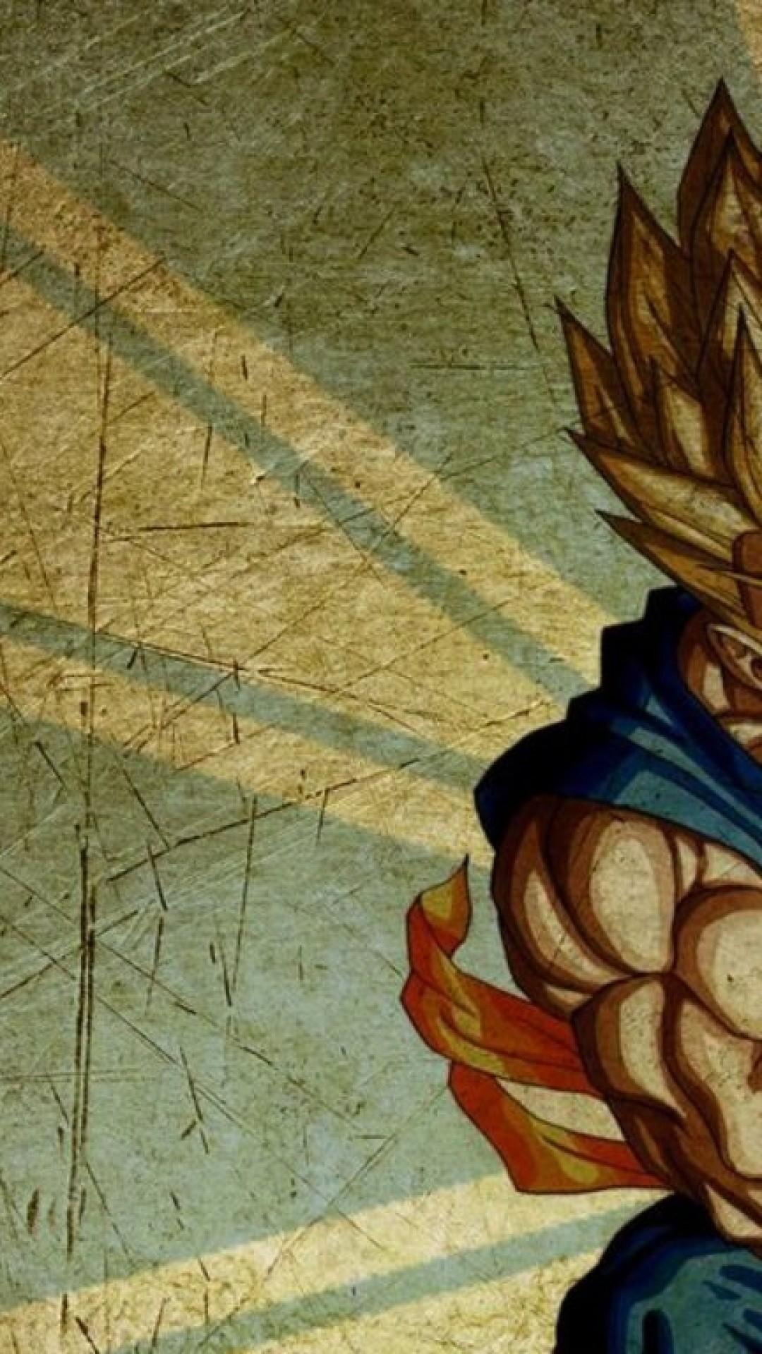 Iphone Dragon Ball Wallpaper Goku 1080x1920 Wallpaper Teahub Io