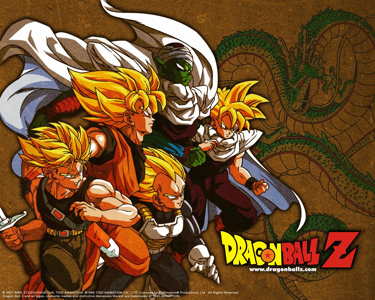 Dragon Ball Z - HD Wallpaper