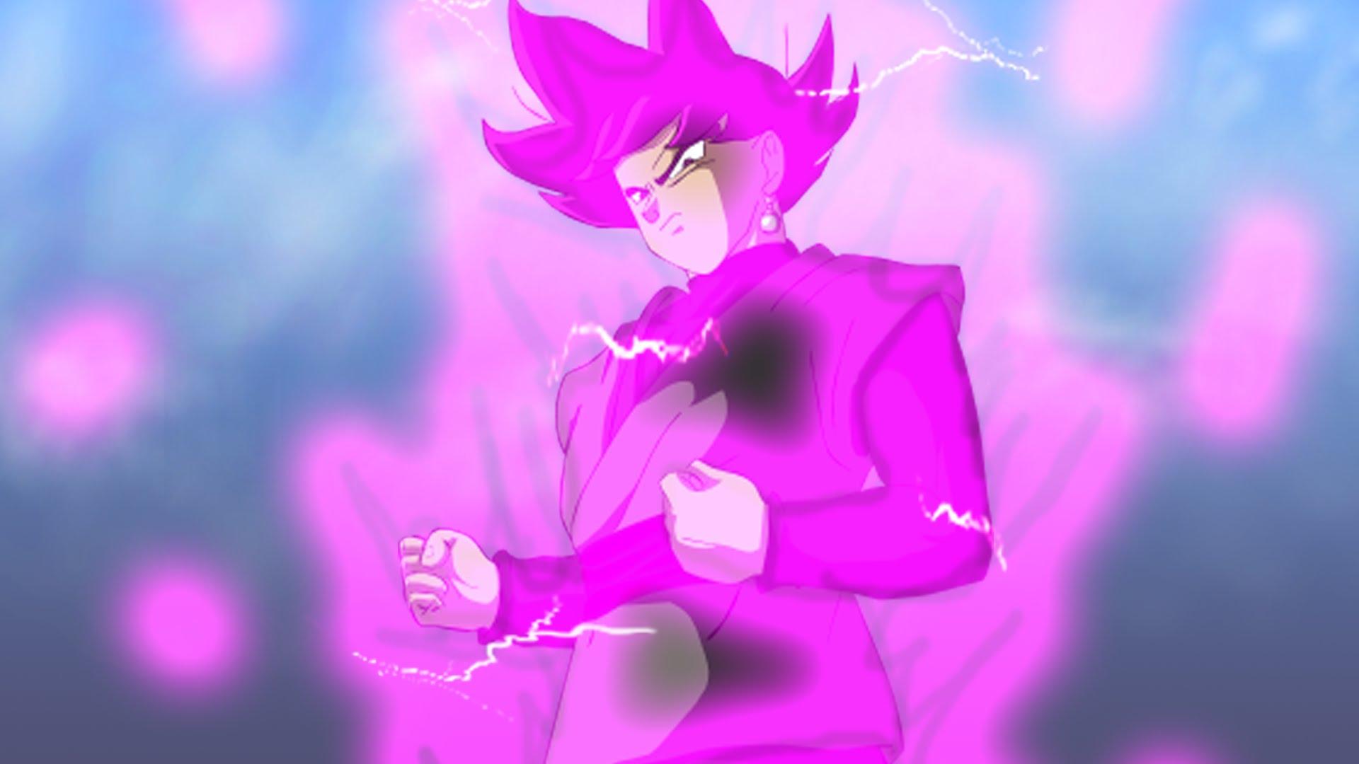 Goku Black Super Saiyan Rose Wallpaper Hd 1920x1080 Wallpaper Teahub Io