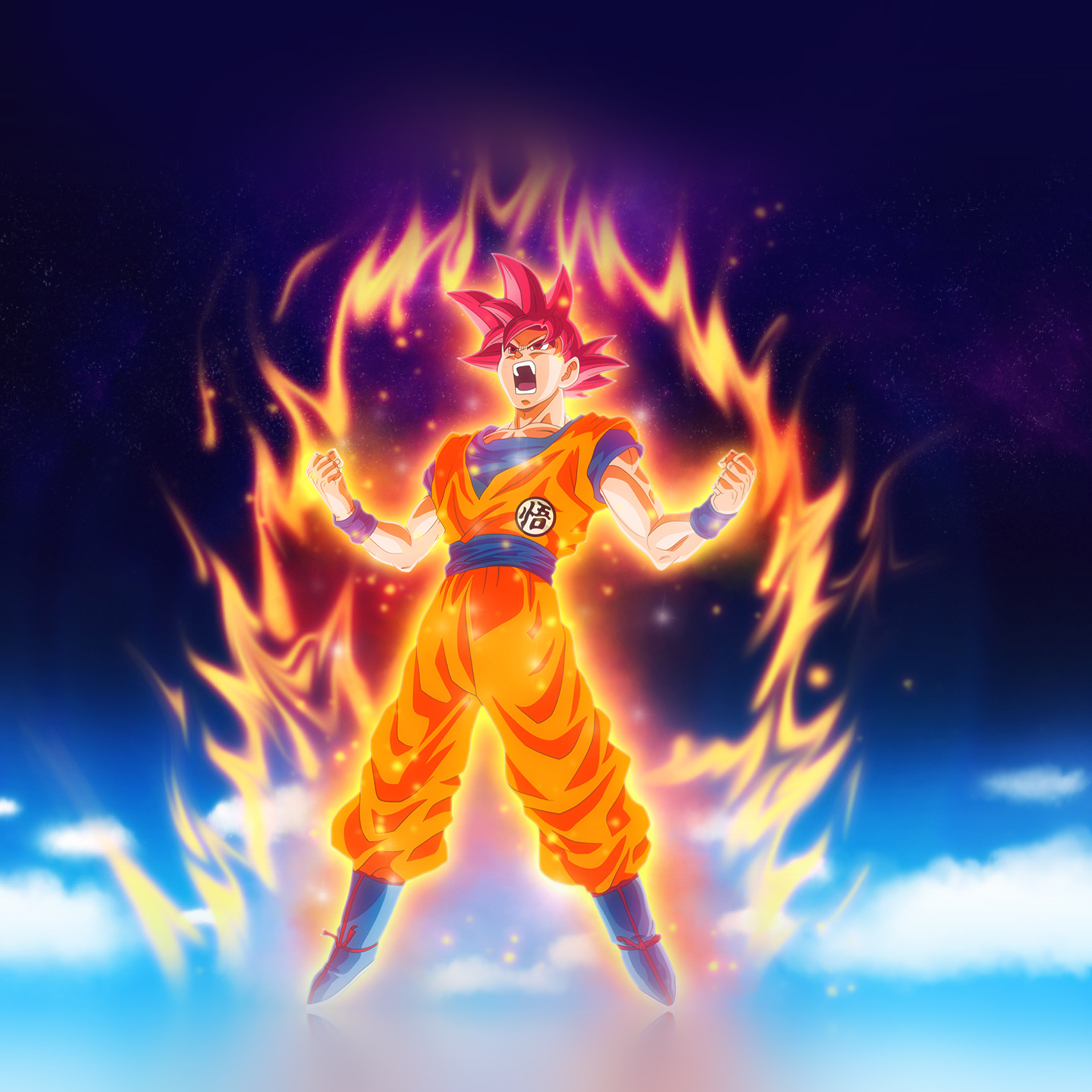 Dragon Ball Z Wallpaper Iphone 7 2732x2732 Wallpaper Teahub Io