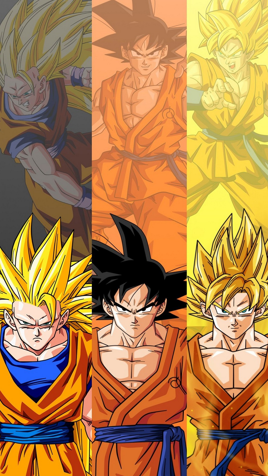 Goku Wallpaper Android With Hd Resolution Dragon Ball Goku Growth 1080x1920 Wallpaper Teahub Io
