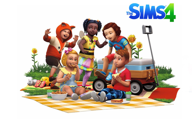 Photo Wallpaper Baby, Game, Sims, Sims 4, Toddler - Sims 4 Packs - HD Wallpaper