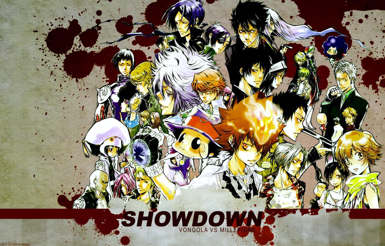 Photo Wallpaper Anime Characters Mafia Katekyo Hitman Katekyo Hitman Reborn 30 Days Challenge 1332x850 Wallpaper Teahub Io