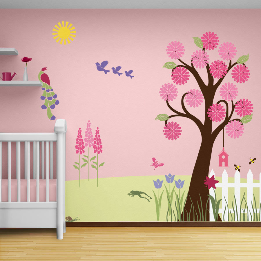 Toddler Wallpaper Wall Painting Ideas For Girls Room 900x900 Wallpaper Teahub Io