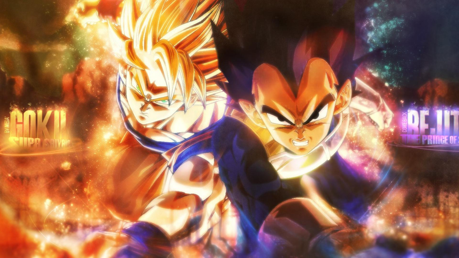 Dragon Ball Super Goku And Vegeta Wallpaper Hd 1920x1080 Wallpaper Teahub Io