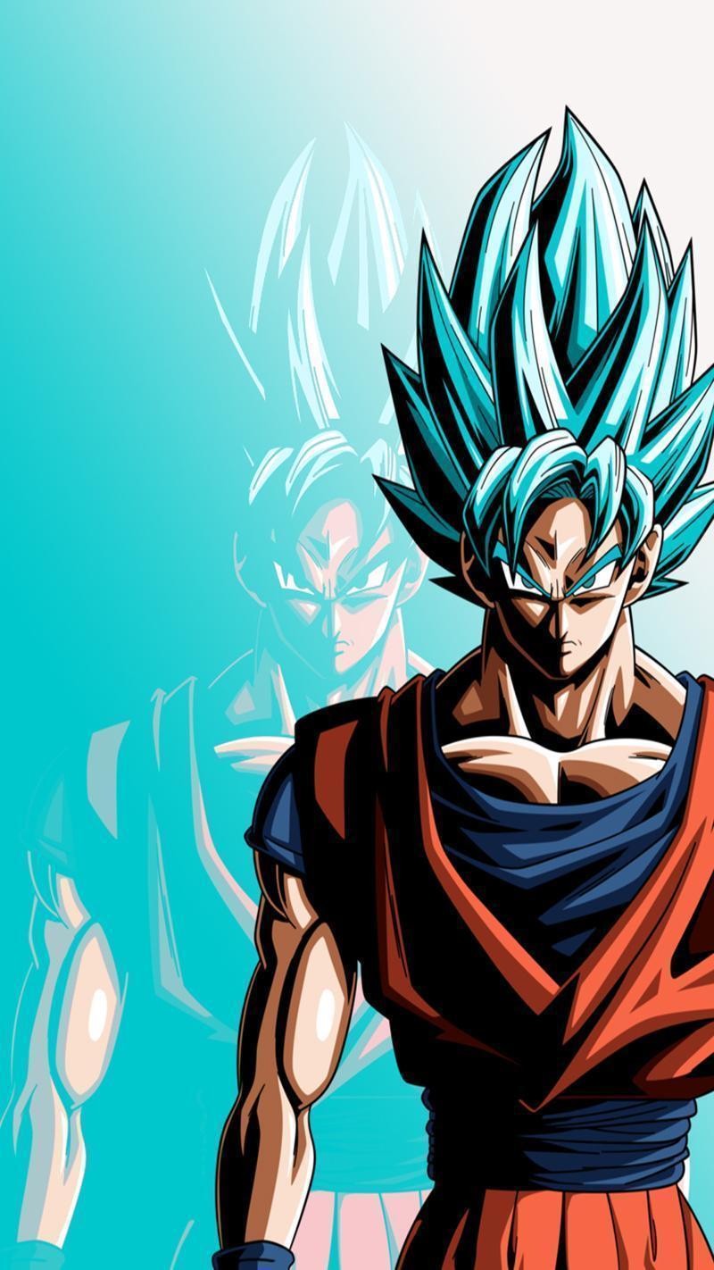 Goku Hd Wallpaper For Mobile 800x1422 Wallpaper Teahub Io