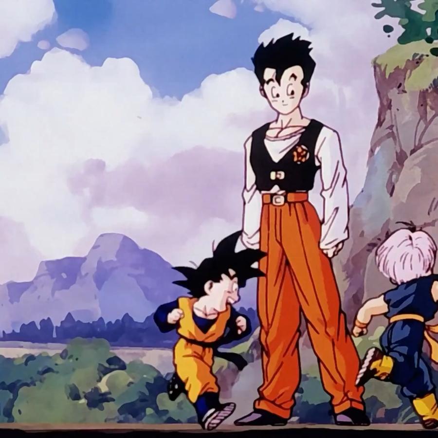 Dragon Ball Z Gohan And Goten And Trunks 900x900 Wallpaper Teahub Io
