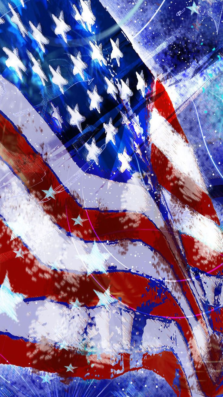 Usa Flag Iphone Wallpapers Full Hd Is 4k Wallpaper Background 4th Of July 736x1309 Wallpaper Teahub Io