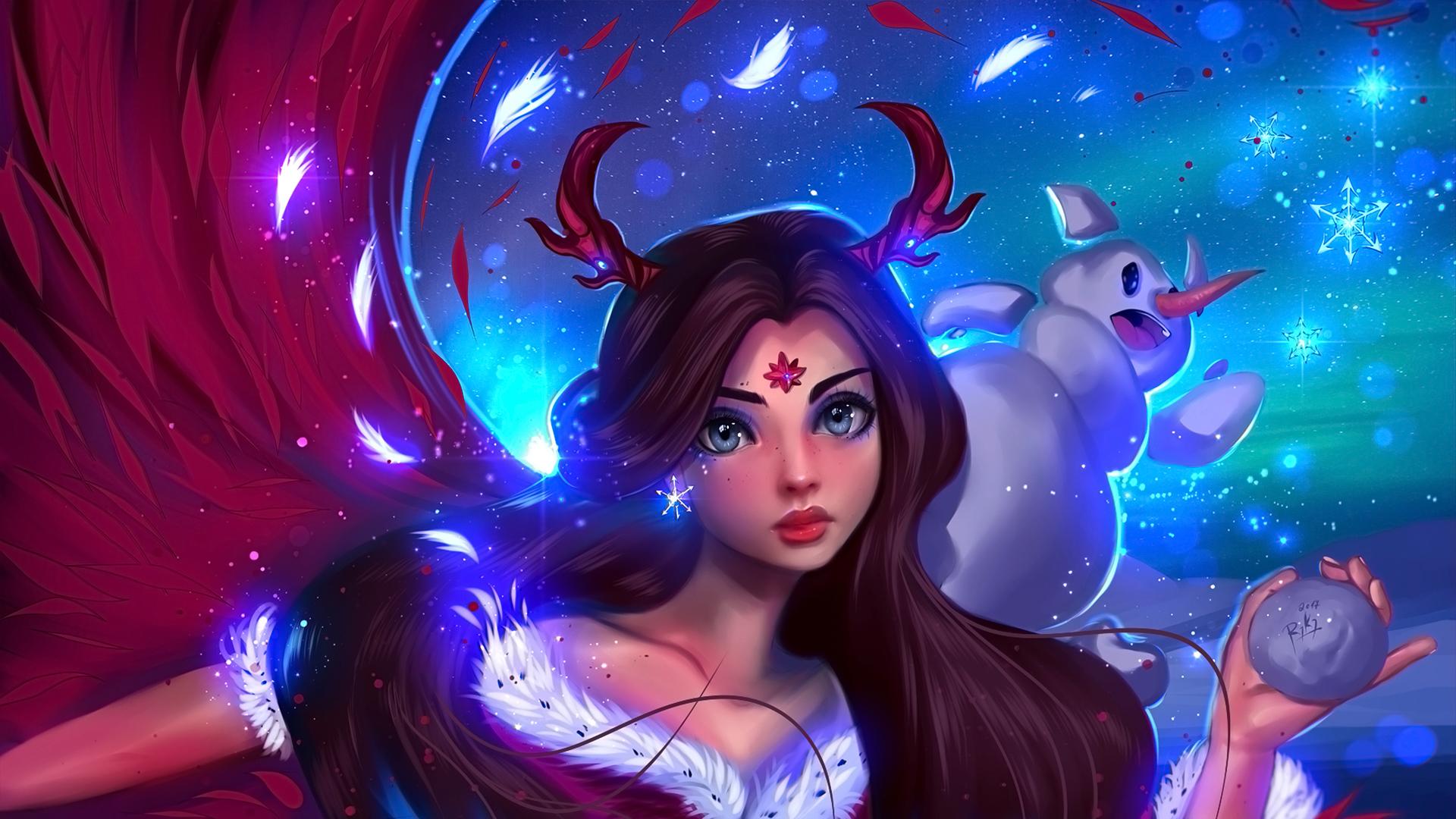 112 1129477 anime girls christmas