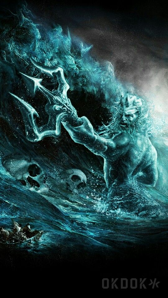 Poseidon Greek God - 540x960 Wallpaper