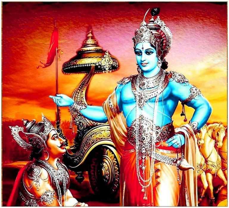 Whatsapp Dp Mahabharat Wallpaper Desktop Krishna Full - Mahabharat Shri Krishna Hd - HD Wallpaper