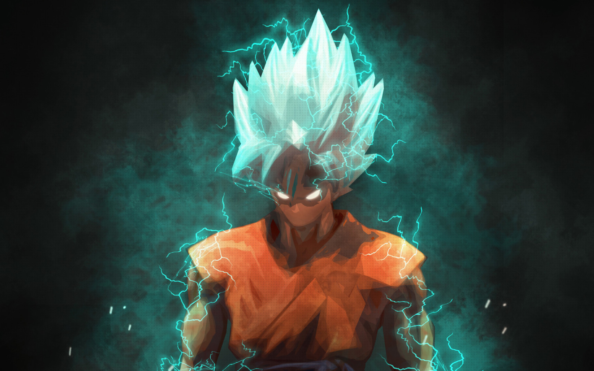 Blue Goku Lightnings Super Saiyan Blue Darkness Goku Wallpaper Hd 4k 1920x1200 Wallpaper Teahub Io
