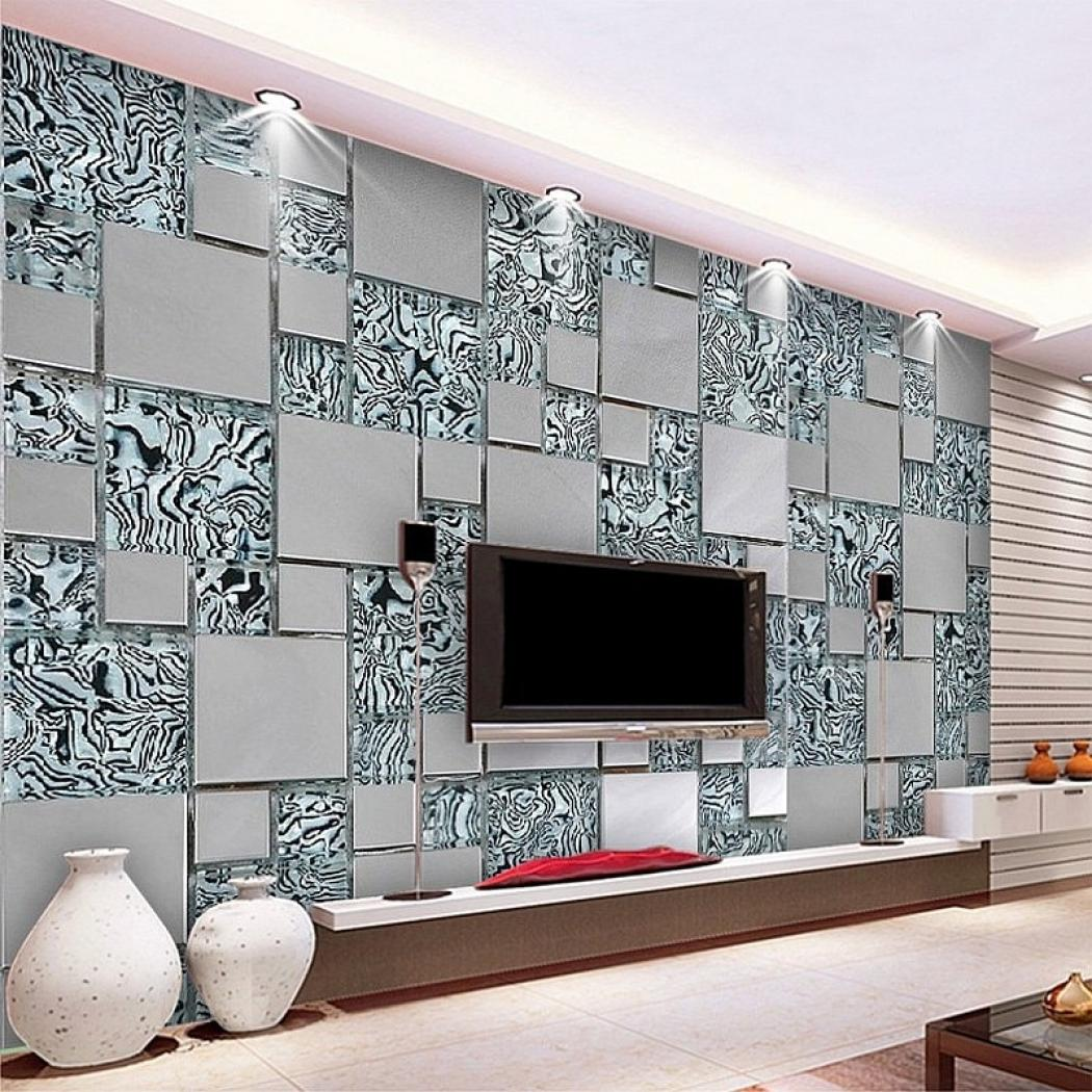 Custom Photo Wallpaper 3d Stereoscopic Non Woven Abstract - Living Room 3d Wall Painting Designs For Hall - HD Wallpaper