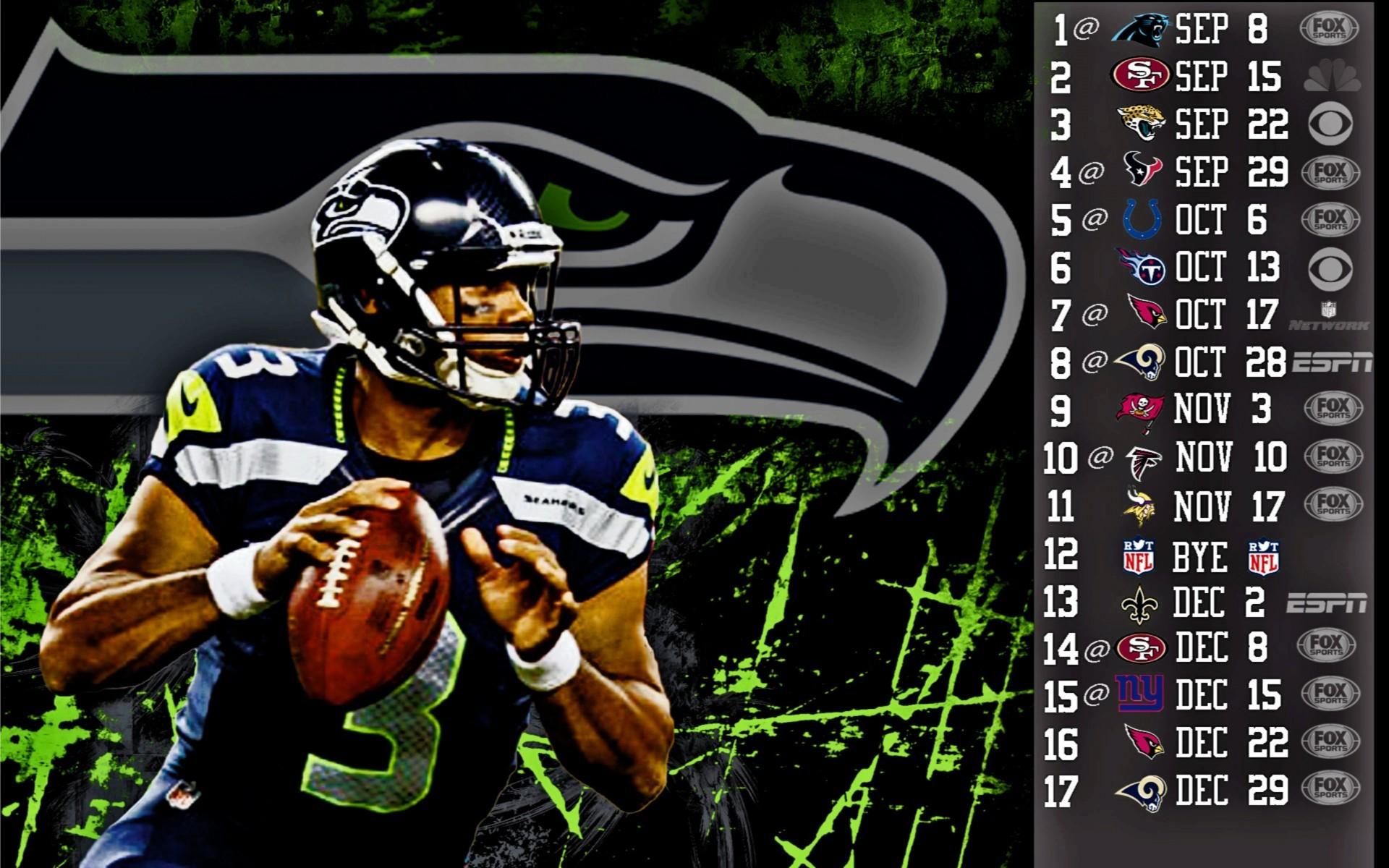 Download Free 4k Russell Wilson Wallpaper Data Src Seattle Seahawks Schedule 2018 2018 1920x1200 Wallpaper Teahub Io