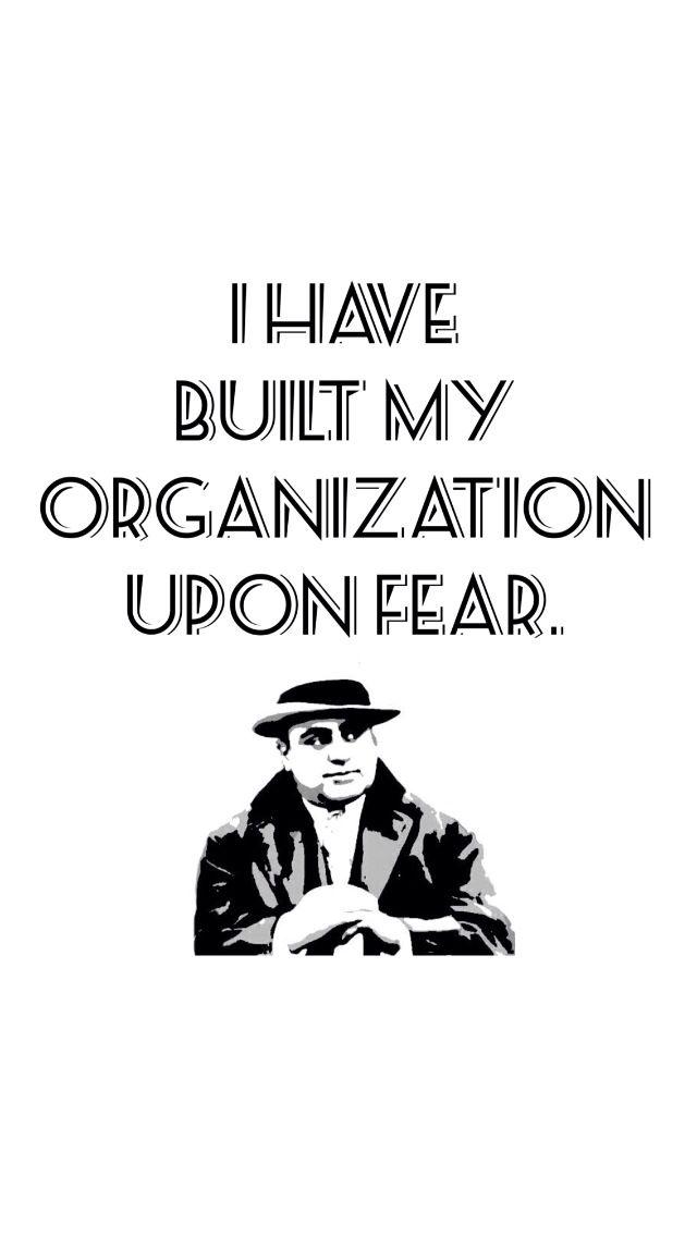 Al Capone Quote - HD Wallpaper