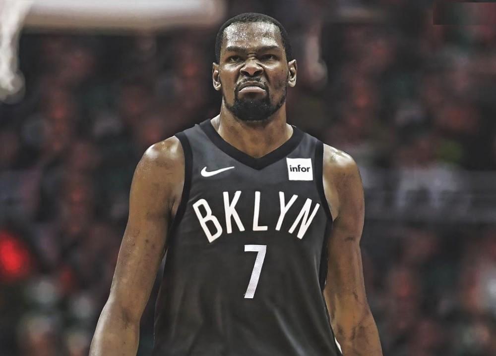 Kevin Durant Brooklyn Nets Jersey 1000x719 Wallpaper Teahub Io