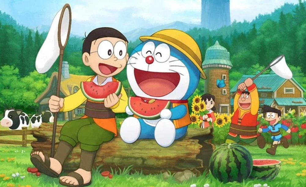 Gambar Gambar Doraemon Lucu - Doraemon Story Of Seasons Vera - HD Wallpaper