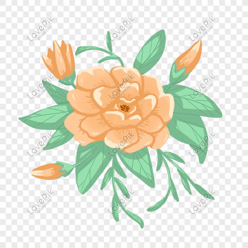 Bunga Melati Yang Dilukis Dengan Tangan Foto - Gambar Bunga Melati Kartun - HD Wallpaper