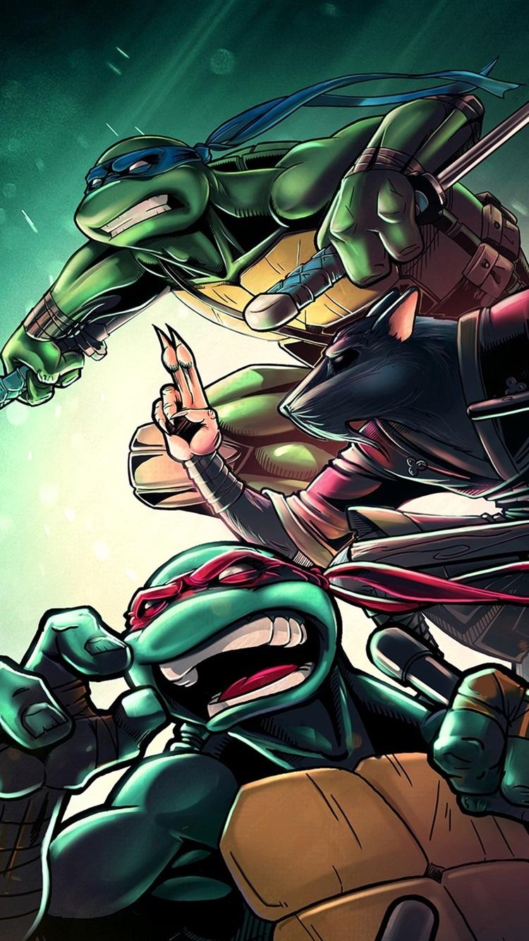 Iphone Wallpaper Teenage Mutant Ninja Turtles, Classic - Teenage Mutant Ninja Turtles Iphone 8 - HD Wallpaper
