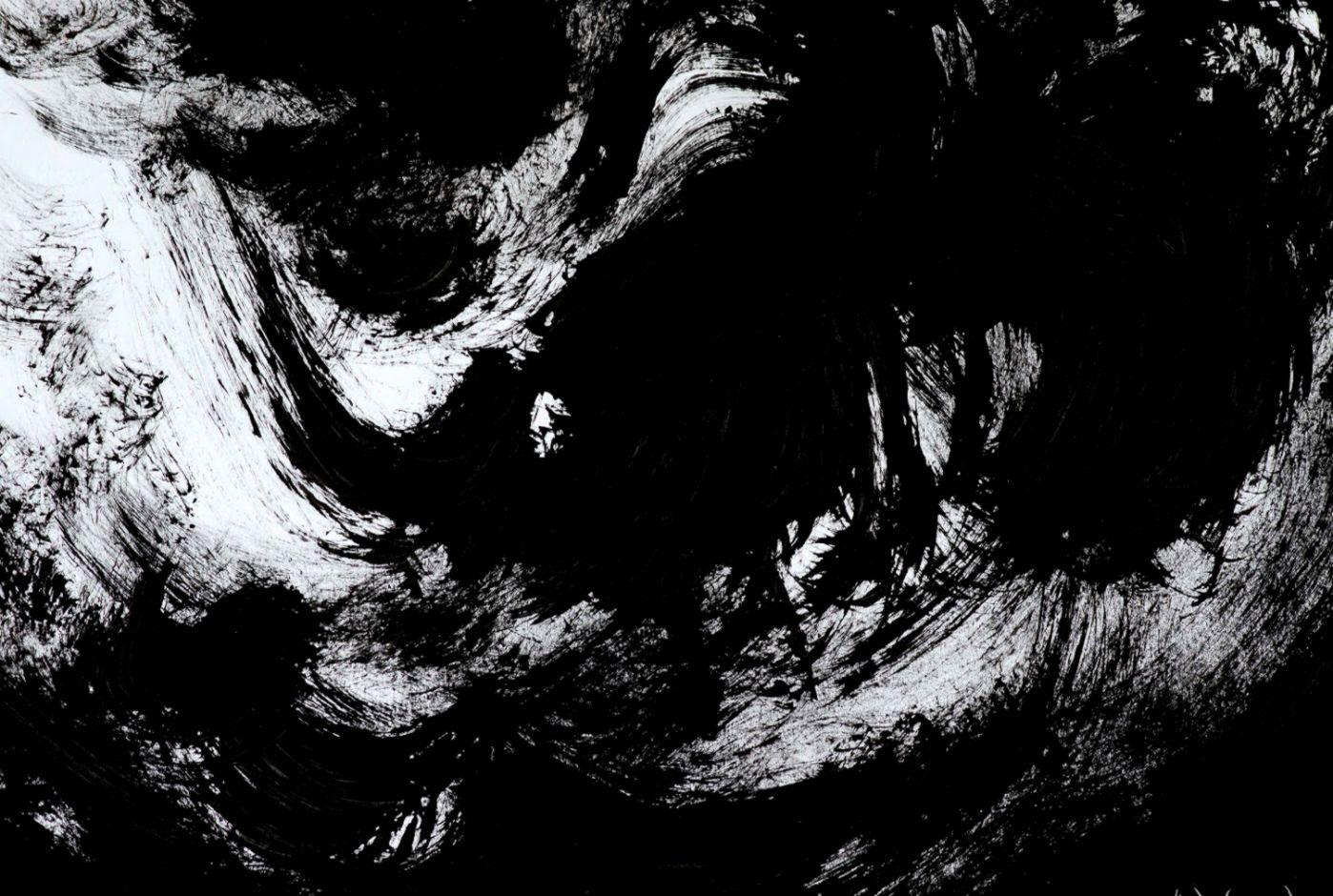 Dark Abstract Art Paintings Hd Artworks Widescreen - Abstract Art Wallpaper Dark - HD Wallpaper