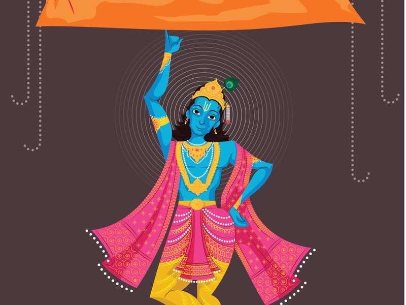 Govardhan Puja - Govardhan Puja Date 2019 - HD Wallpaper