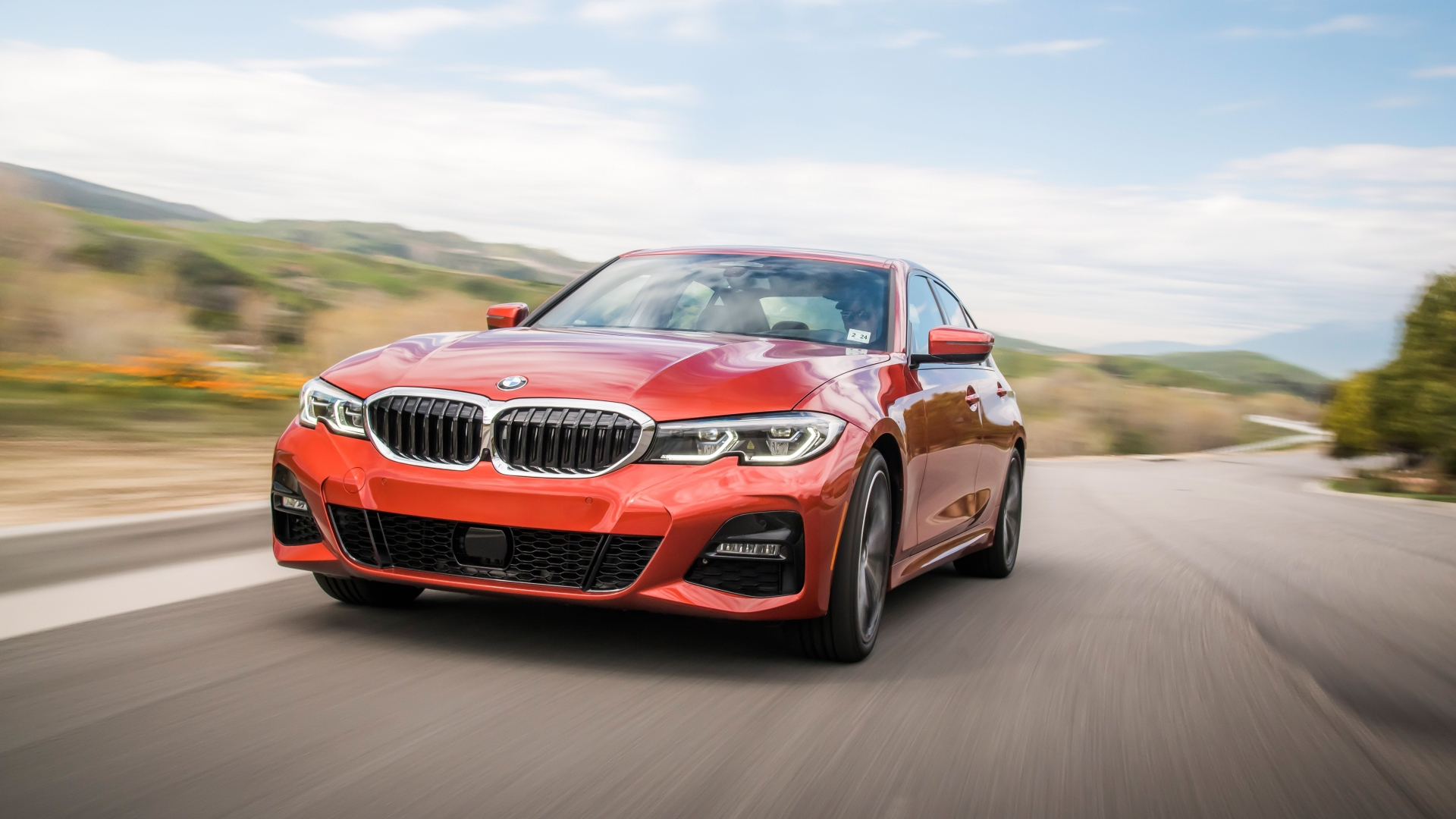Bmw G20 Sunset Orange - HD Wallpaper
