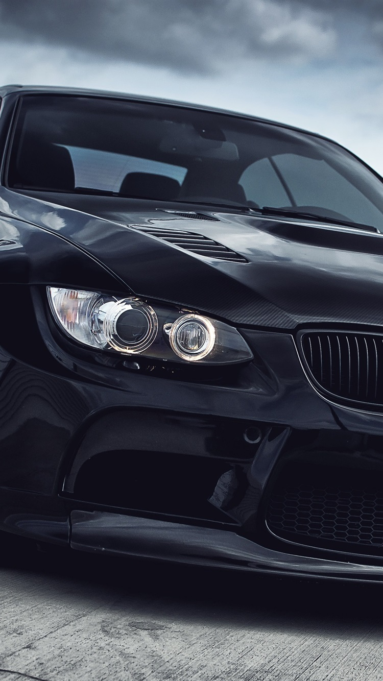 Iphone Wallpaper Bmw M3 Black Car Iphone Xs Wallpaper Bmw 750x1334 Wallpaper Teahub Io