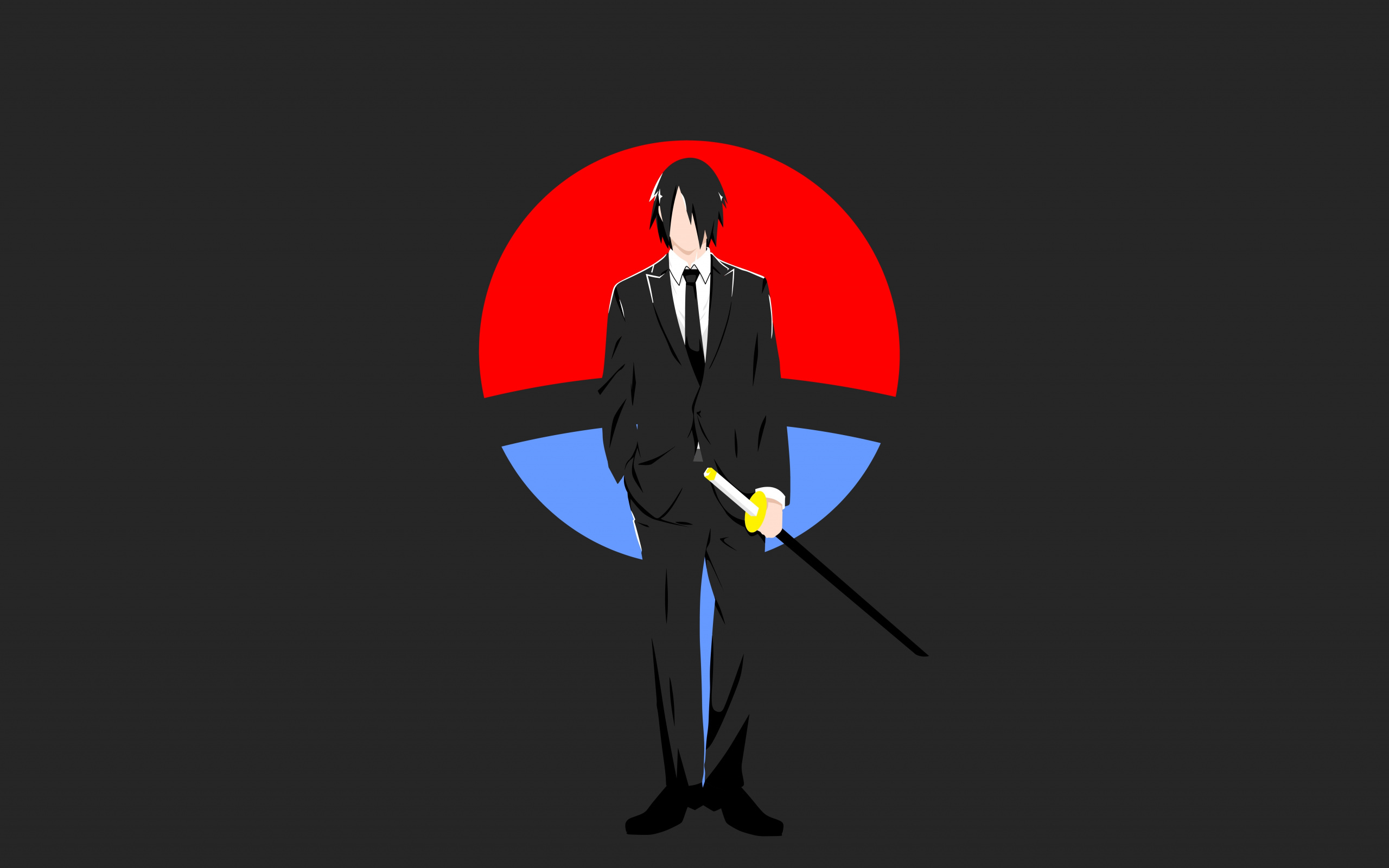 Minimal, Sasuke Uchiha, Naruto, Anime, Wallpaper - Ultra Hd Sasuke Uchiha - HD Wallpaper