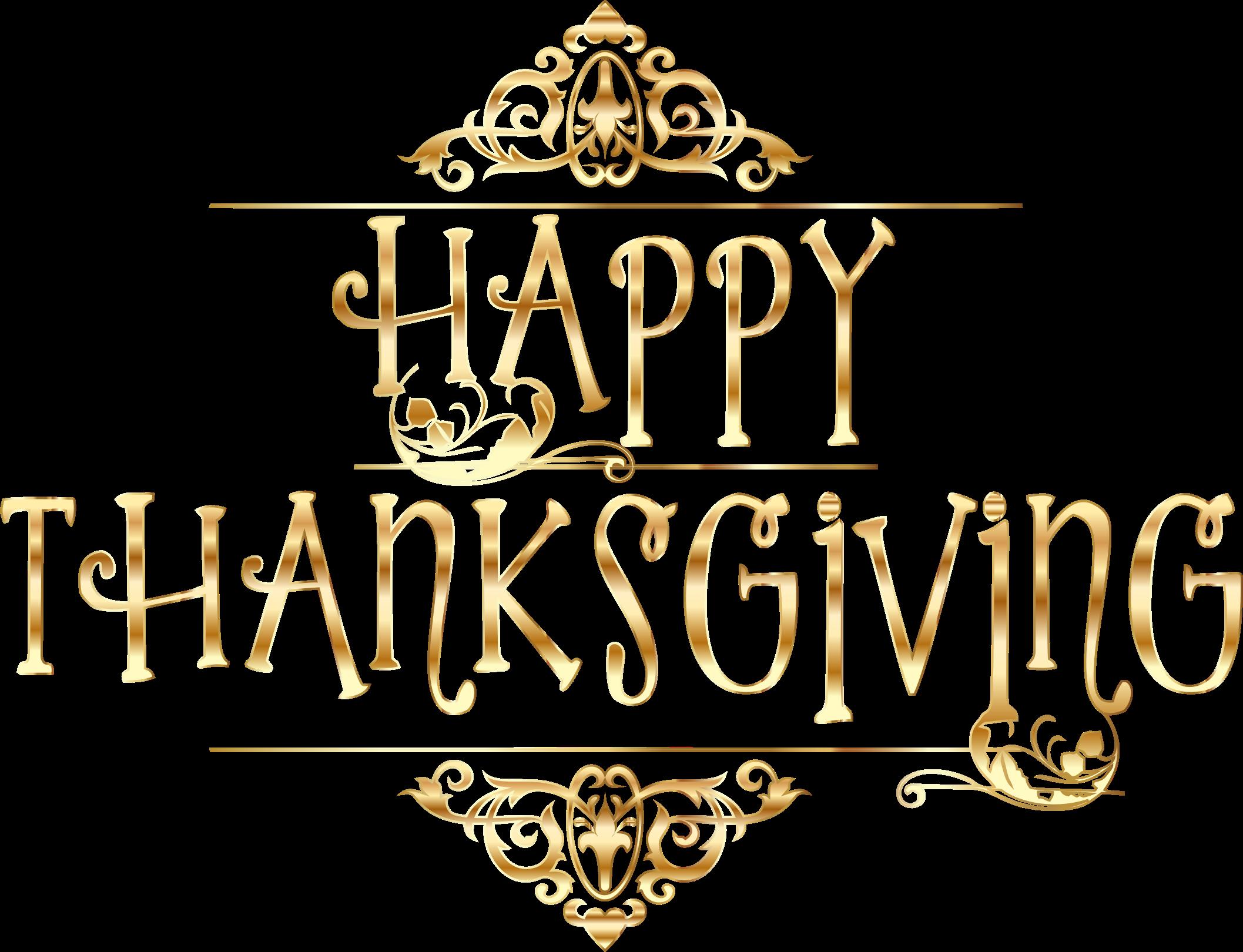 Thanksgiving Desktop Wallpaper Clip Art - Happy Thanksgiving No Background - HD Wallpaper