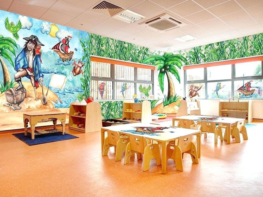 Boys Bedrooms Wallpaper Bedroom With White Furniture - Interior Design - HD Wallpaper